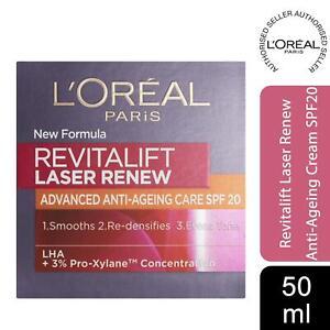 L'Oreal Paris Revitalift Laser Renew Anti Ageing Firming Day Cream SPF20 50ml
