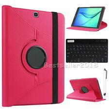 "Fr Samsung Galaxy Tab S2 8"" T710 T713 T719 Bluetooth Keyboard Leather Case Cover"