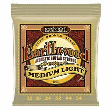 Corde Chitarra Acustica Ernie Ball Earthwood Medium Light 2003 Phosphor Bronze
