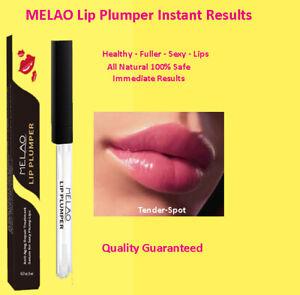 Lip Plumper Enhancer Fuller Sexier Immediate Results Safe & Natural Healthy Lips