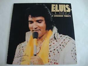 Elvis Presley LP A Canadian Tribute (Gold Vinyl) (RCA KKL1-7065, Canada)