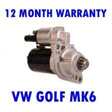 VW GOLF MK6 MK VI 1.2 2008 2009 2010 2011 2012 2013 RMFD STARTER MOTOR