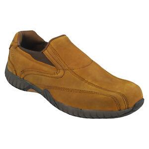 Skechers Sendro Bascom Trainers Mens Memory Foam Slip On Leather Shoes