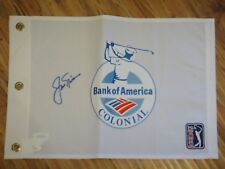 JACK NICKLAUS SIGNED JSA CERTIFIED AUTHENTIC PGA TOUR PIN FLAG AUTOGRAPHED