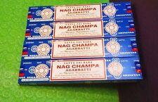 24 x 15 GM Satya Sai Baba Nag Champa Original incense sticks FREEship