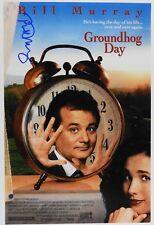 Bill Murray Autograph Signed 12 x 18 JSA COA Groundhog Day