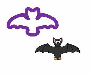 V2 Unique Cute Bat Cookie Cutter Polymer Clay Fondant Halloween Cookies Cutters