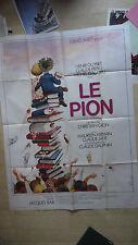 AFFICHE CINEMA 160 x 120 CM LE PION HENRI GUIBET CLAUDE PIEPLU MICHEL GALABRU