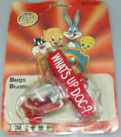Vintage 1988 ERTL Metal Plate Bugs Bunny Pilot What's Up Doc?  Sealed & Boxed