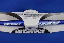 New Answer ProTaper XC Trail Flat Mountain Handlebars 685 Width x 31.8mm - Blue
