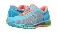 Asics Gel-Quantum 360 CM Women's Running Shoes NIB Aquarium/White/Coral Size 6
