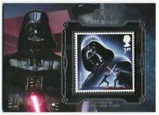 2016 Star Wars Masterwork Stamp Relics Silver Darth Vader 17/50