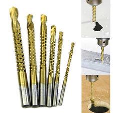 6pcs Ti Drill Bit Woodworking Wood Metal Plastic Cutting Hole Saw Holesaw HSS