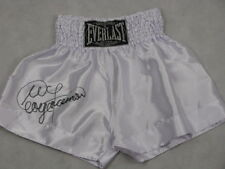 GEORGE FOREMAN  Hand Signed Boxing Trunks Shorts