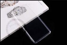 CUSTODIA COVER PER Sony Xperia M4 Aqua SLIM TRASPARENTE morbido TPU