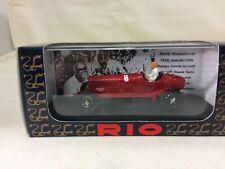 NIB Rio SL048 1933 Alfa Romeo P3 with Benito Mussolini Driving! Free Shipping!