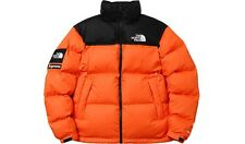 SUPREME x The North Face Nuptse Jacket With Packable Hood Power Orange M F/W 16