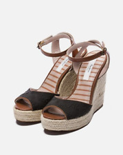 PEPE JEANS Walker Wedge Sandals UK 6 EU 39 JS34 14