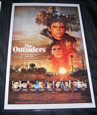 The Outsiders 11X17 Movie Poster Swayze Macchio Dillon Lowe Howell Style A