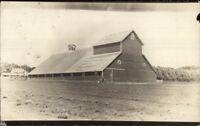 Huge Barn Pipestone MN c1910 Real Photo Postcard