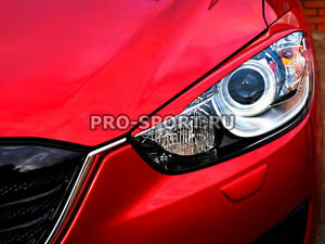 Mazda CX 5 2011 2012 2013 2014 2015 2016 2017 paintable headlights eyebrows 1set