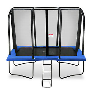 Exacme 7x10 Foot Rectangle Trampoline with Enclosure 6184-0710