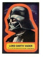 1977 Topps Star Wars Sticker Darth Vader
