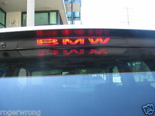 BMW X5 E53 3rd brake light decal overlay 2000 2001 2002 2003 2004 2005 2006