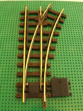 LGB POINTS G SCALE MODEL RAILWAY BRASS TRACK R600 RIGHT HAND MANUAL POINT