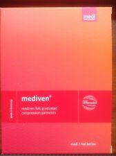 Medi Mediven for Men Class 1 Below-knee Compression Socks Grey Size IV Petite