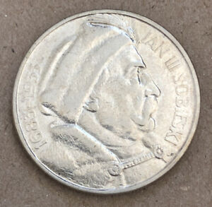 Poland 1933 10 Zlotych Sobiesky Silver Very Nice Coin