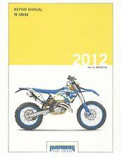 Husaberg service manual 2012 TE 125 EU