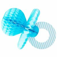 6pcs Blue Pacifier Centerpiece for Boy Baby Shower Party Table Decorations 11.2""