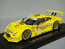 Ebbro 1:43 Yellow Hat YMS GT-R Low Down Force Fuji Super GT500 2008 #3 fromJapan