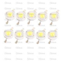 10PCS 1W Cool  White SMD LED Beads NEW