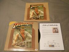 HARRISON FORD SIGNED INDIANA JONES TEMPLE OF DOOM RECORD ALBUM PSA/DNA LOA AUTO