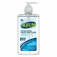 EGO Aqium Antibacterial Hand Sanitiser 375ml