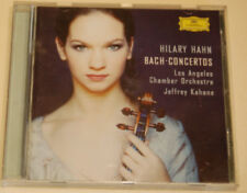 Hilary Hahn Bach Concertos Los Angeles Chamber Orchestra Jeffrey Kahane CD