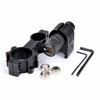 650nm Red Laser Sight Barrel Mount 25.4mm 2pcs Scope Mount For Rifle Gun Hunting