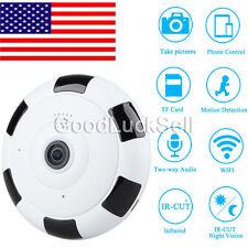 Mini 360 Degree Wireless IP Camera Fisheye Night Vision 1080P HD Wifi Panoramic