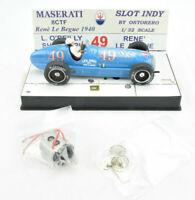 Ostorero Maserati 8CTF - René Le Bègue - 1940 Indy 500 1/32 Slot Car ODG 062