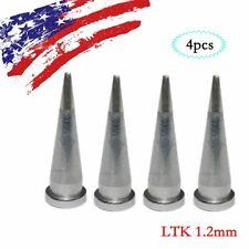 4 pcs For Weller Soldering Station solder Iron LTK 1.2mm WSP80 WSD81 NEW