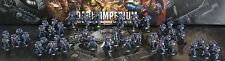 Primaris space marines Large army  Pro painted Ultra marine made to order