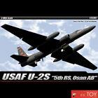 "Academy 1/48 USAF U-2S ""5th RS, Osan AB"" reconnaissance Plastic model kit #12307"