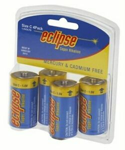 Eclipse Alkaline C Batteries Pk4