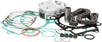 Vertex Top End Piston Gasket Kit HC 77.97mm 13.4:1 C Honda CRF250R 2004-2007