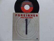 FOREIGNER Juke box hero  11670 FRANCE Autre pochette   RRR