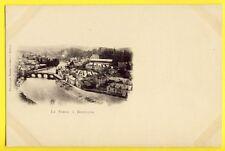 CPA Carte Nuage de 1900 BELGIQUE Rivière LA SEMOY à BOUILLON Ponsin Druart REIMS