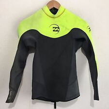 Billabong Mens Wetsuit Top  Long Sleeve Jacket Foil 202 Size Small S