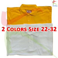 Kids Regular Wear Poloshirt Children's School Polo Shirt Casual Boys Girls TEE